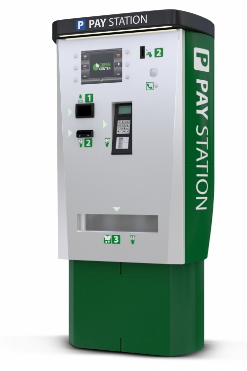 GP4M automatic pay station