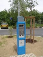 Parkovací automat PC2002 se solárním napájením