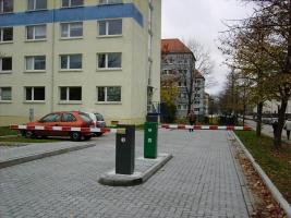 Parkoviště v obytné zóně