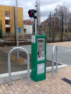 Parkovací automat PC2002